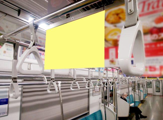 【電車広告】つくばエクスプレス 単線中づりポスター シングルサイズ 7日間