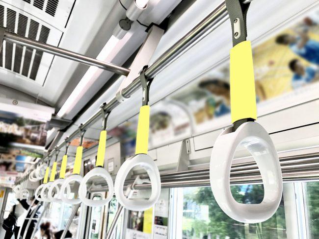 【電車広告】西武 6000系・9000系 つり革広告 1ヶ月間(10両固定)
