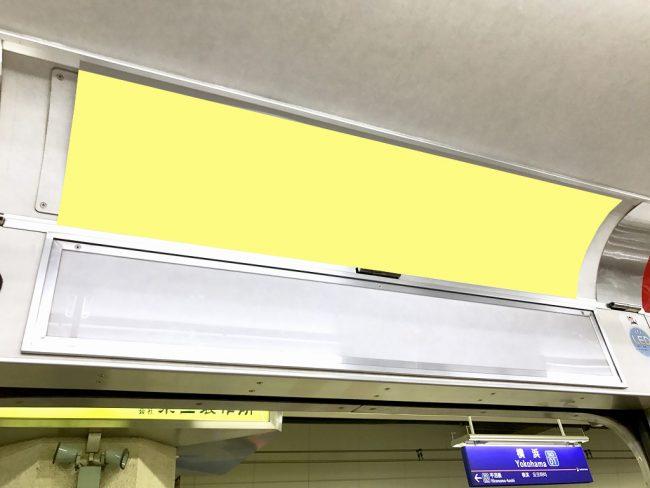 【電車広告】相鉄 ドア上ワイドインター 1ヶ月間